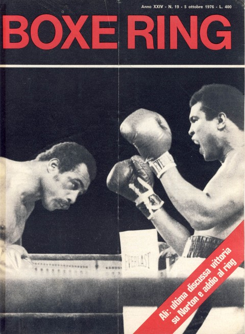 Boxe Ring October 1976 - African Ring