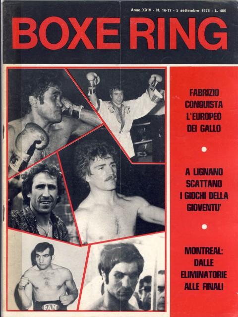 Boxe Ring September - African Ring