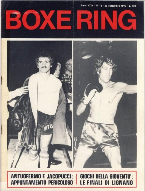 Boxe Ring Sptember 1976 - African Ring