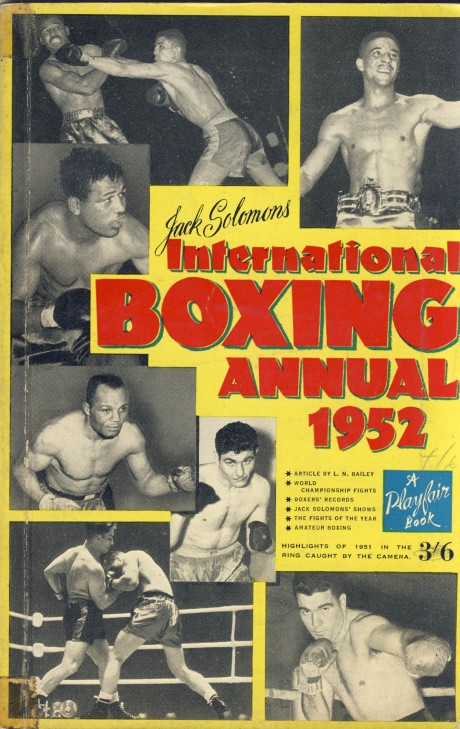 Boxing Annual – Jack Solomon's International 1952