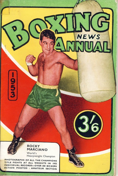 Boxing News Annual 1953 bRocky Marciano