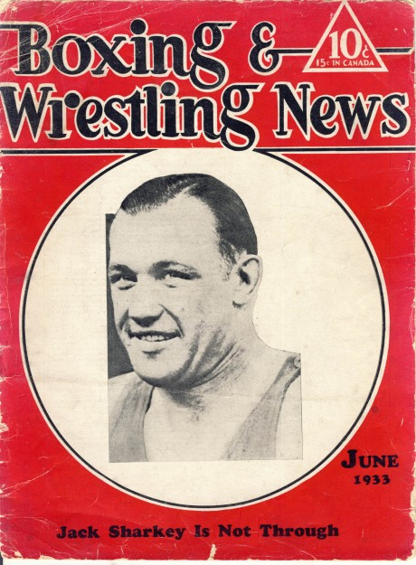 Boxing & Wrestling News June 1933 – Jack Sharkey