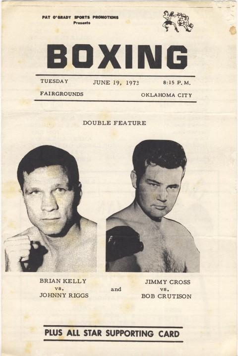 Brain Kelly vs Johnny Riggs - African Ring