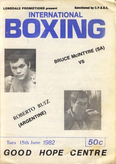 Bruce Mclntyre vs Roberto Ruiz - African Ring