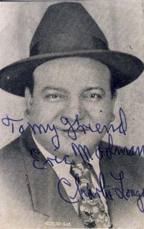 Charley Longo 1929-1934