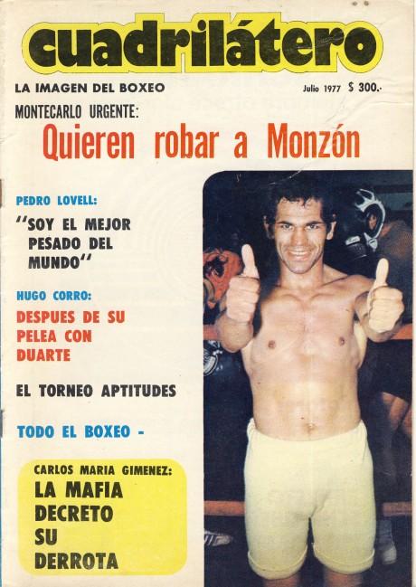 Cuadrilatero July 1977 Tito Lectoure
