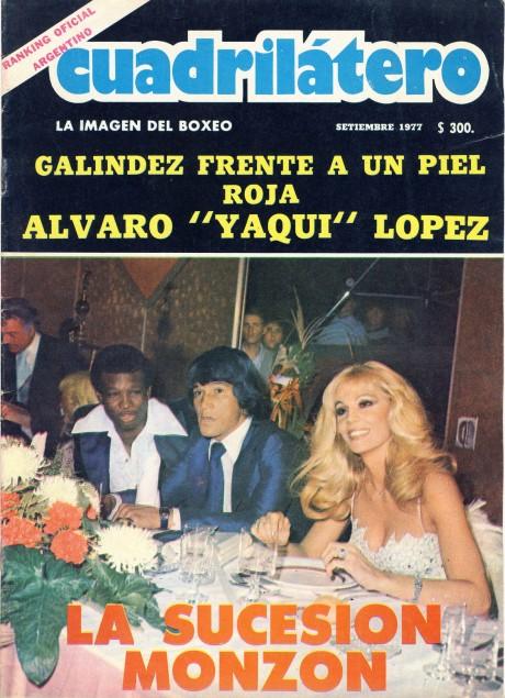 Cuadrilatero September 1977 Carlos Monzon Rodrigo Valdez