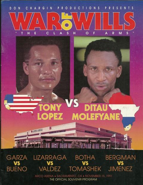 Ditau Maolefyane vs Tony Lopez - African Ring