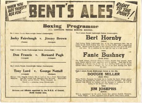 Fanie Bushney vs Bert Hornby 1948