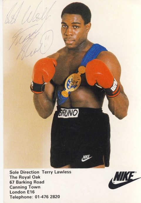 Frank Bruno - African Ring