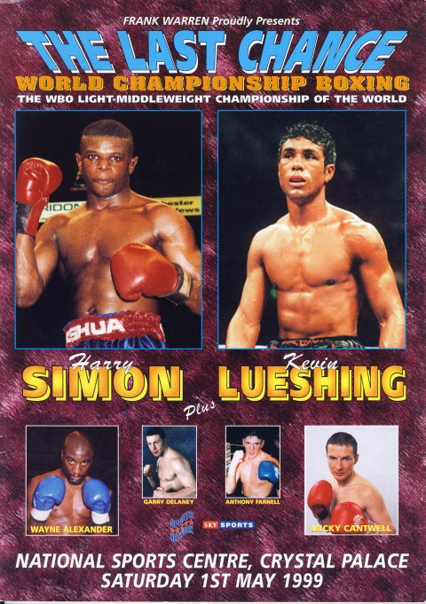 Harry Simon vs Kevin Lueshing - African Ring