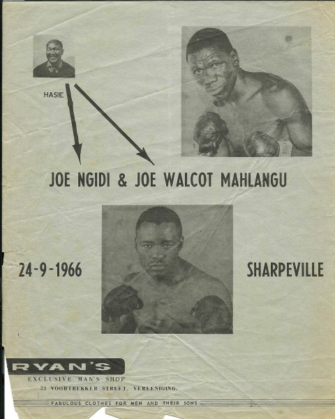 Joe Ngidi vs Joe - African Ring