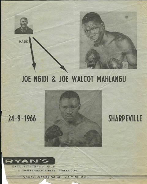Joe Ngidi vs Joe - African Ring