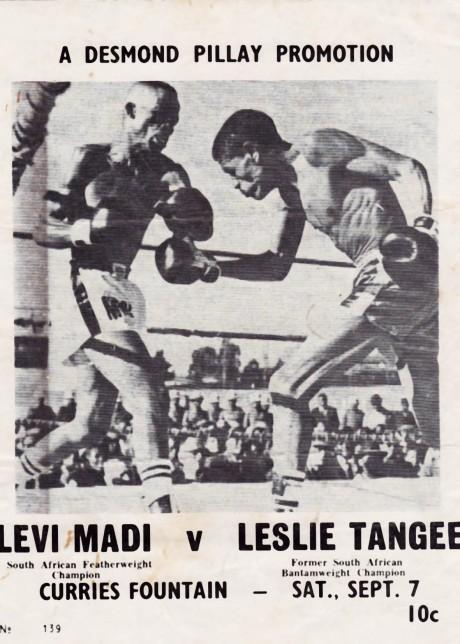 Levi Madi vs Leslie Tangee