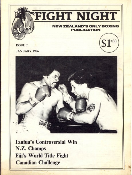New Zealand Fight Night publication issue 7