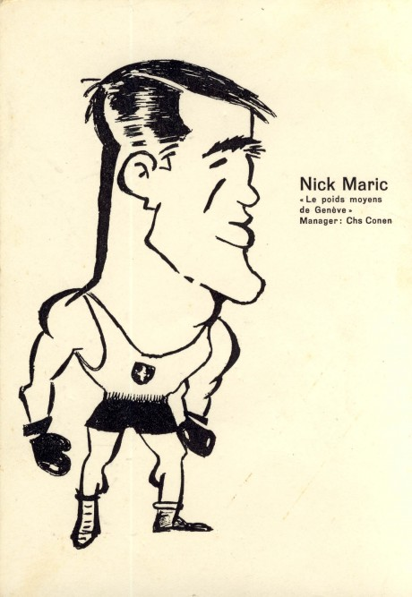 Nick Maric 1959-1967  fought Mike Holt