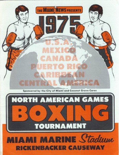 North American Games 1975 Trevor Berbick vs Michael Dokes