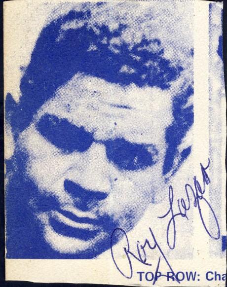 Roy Lazar1931-1940 fought Ben Foord twice