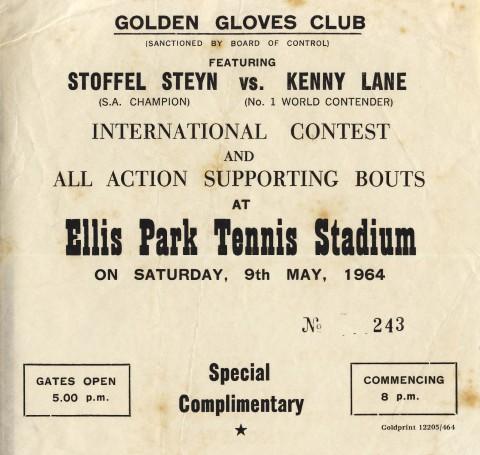 Stoffel Steyn vs Kenny Lane - African Ring