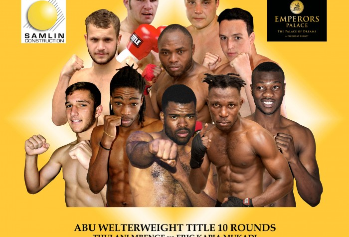 GOLDEN GLOVES, AFRICAN RING, SAMLIN CONSTRUCTION, EMPERORS PALACE presents 'CHRISTMAS CRACKER'