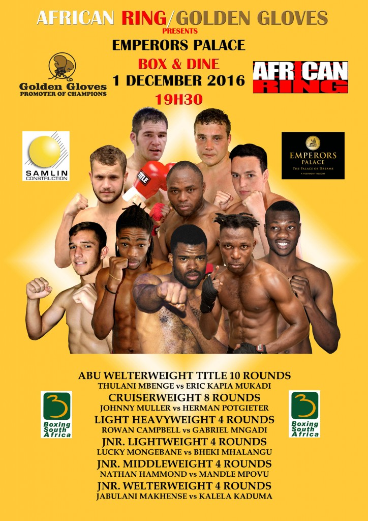 EMPERORS PALACE presents 'CHRISTMAS CRACKER'