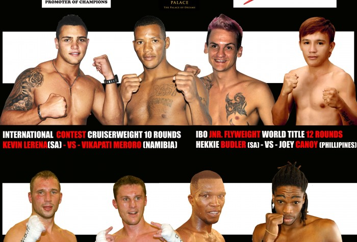 Golden Gloves, Emperors Palace, SuperSport Presents 'Thunder & Lightning'