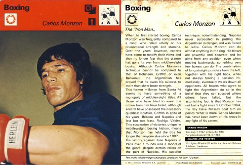 Carlos Monzon - African Ring
