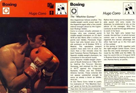 Hugo Corro -- African Ring