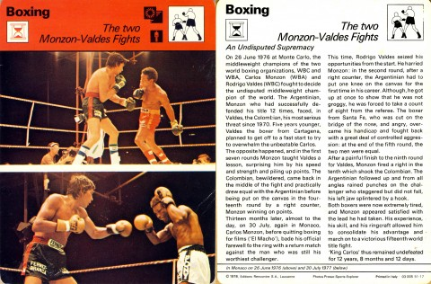 Monzon vs Valdes - African Ring