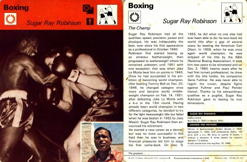 Sugar Ray Robinson - African Ring