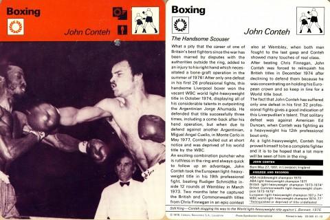 John Conteh - African Ring