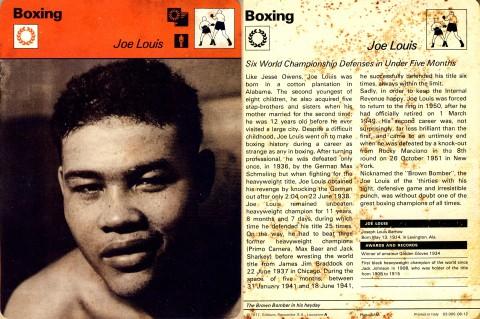 Joe Louis - African Ring