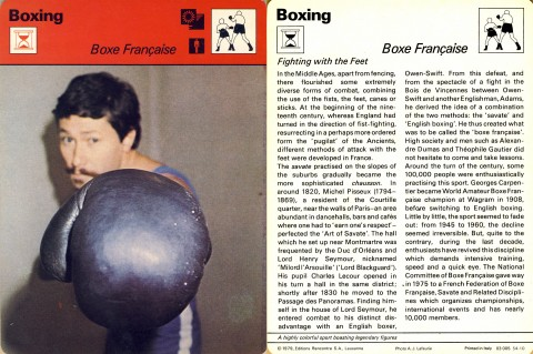 Boxe Francaisa - African Ring