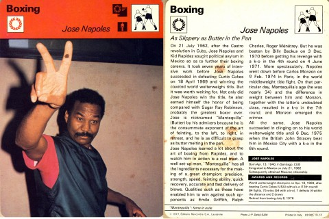 Jose Napoles - African Ring