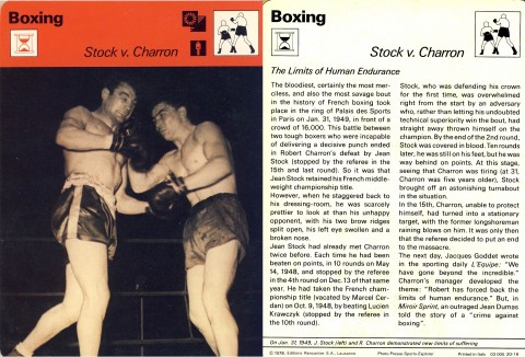 Stock vs Charron - African Ring