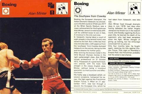 Alan Minter - African Ring