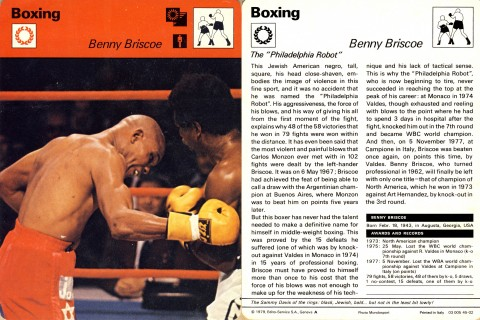 Benny Briscoe - African Ring