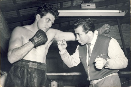 Al Phillips (right) and Artur Howard (left) 1955 wire photo