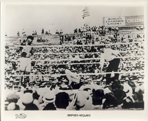 Jack Dempsey vs Willard - African Ring
