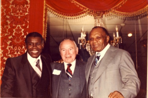 Jimmy Bivins - Jimmy McLarnin - Joe Walcott - African Ring