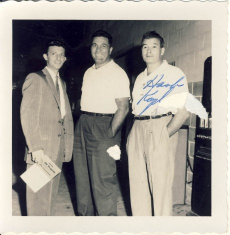 Joey Maxim (center) Sal Bunetta and Hank Kaplan (Right)