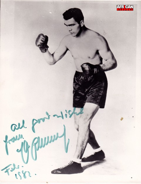 Max Schmeling - African Ring