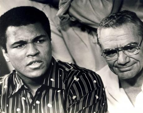 Muhammad Ali and Ernest Bbognine