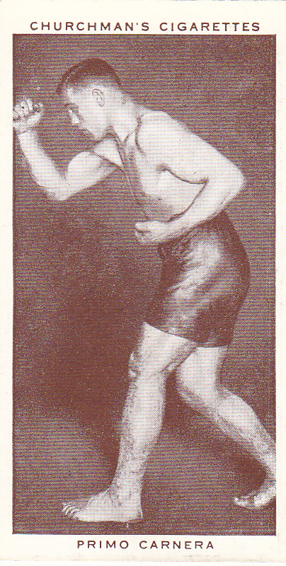 Primo Carnera - African Ring