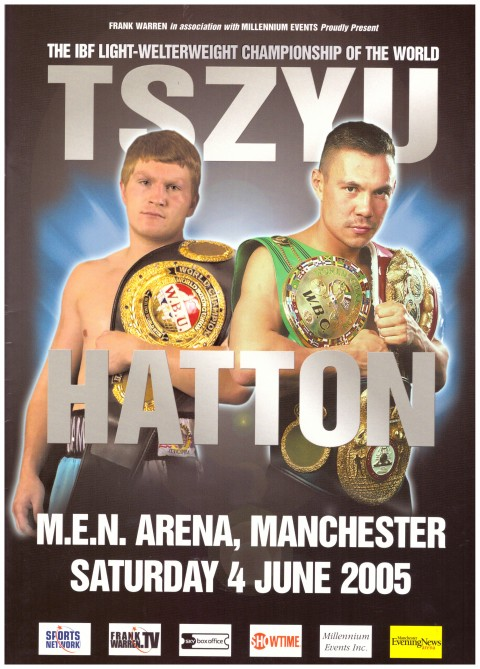 Ricky Hatton vs Koste Tszyu - African Ring