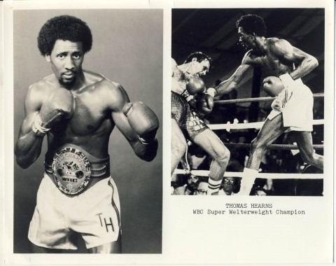Tommy Hearns - African Ring