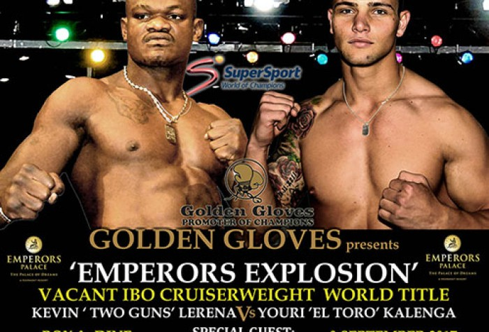 Bout Card Emperors Palace Explosion