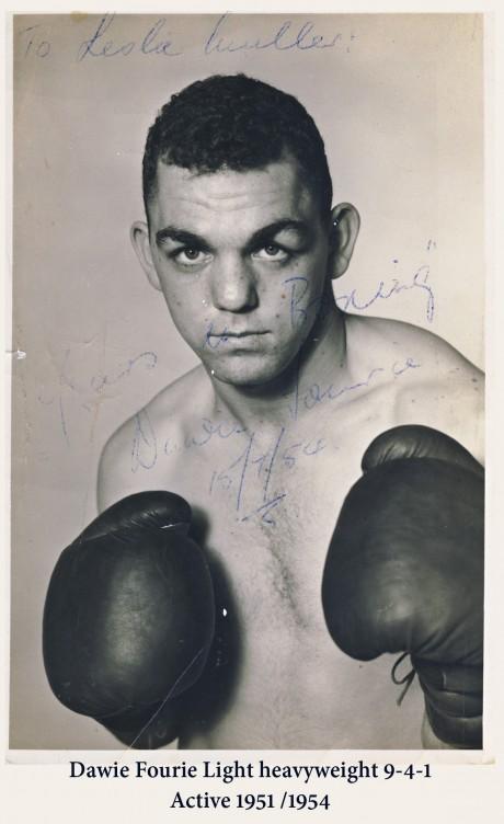 Dawie Fourie KZN 1951-1954