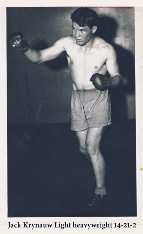 Jack Krynauw active 1946 – 1953