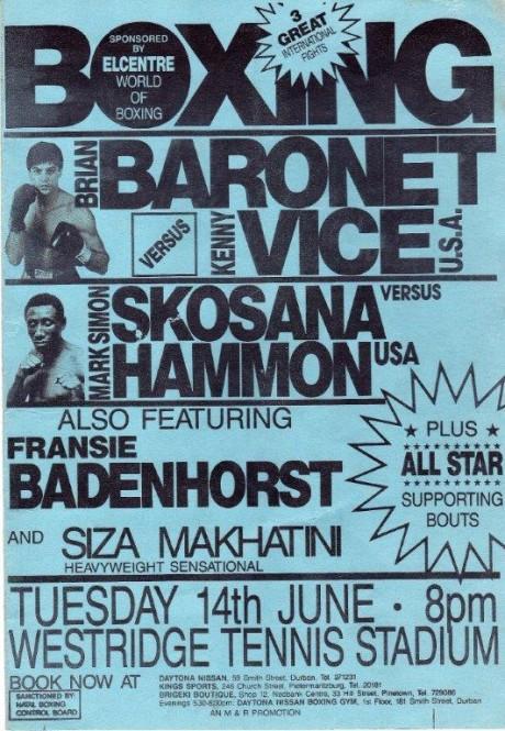 Brian Baronet vs Kenny Vice